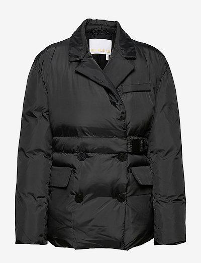 Dalida Jacket Ribstop - gefütterte & daunenjacken - black