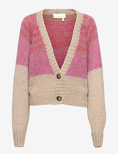 Esther Cardigan - cardigans - pink lavender comb