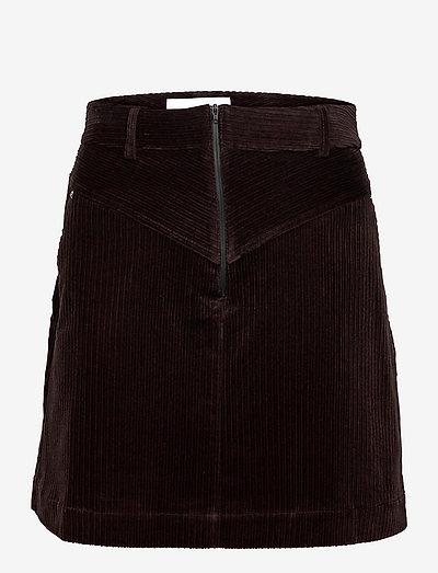 Callie Skirt - korte nederdele - ganache