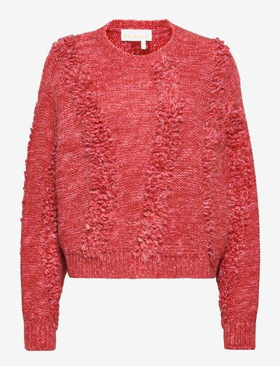Demi Knit Sweater - trøjer - paprika