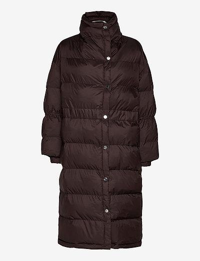 Ember Coat - dynefrakke - ganache
