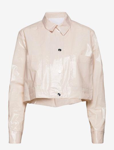 Mariona Jacket - lette jakker - pastel parchment