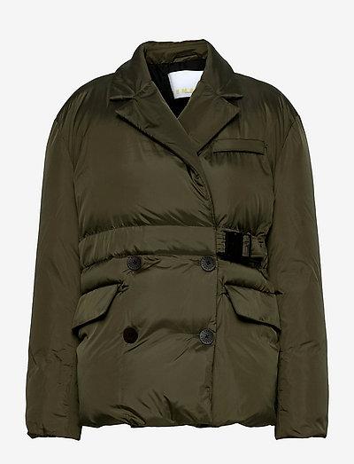 Dalida Jacket Ribstop - winter jackets - military olive