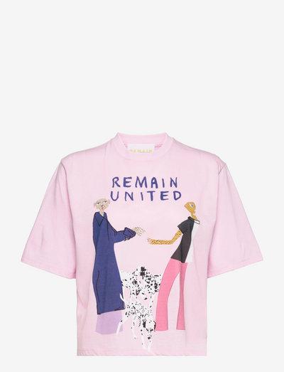 Rosan T- Shirt - t-shirt & tops - pink lavender comb