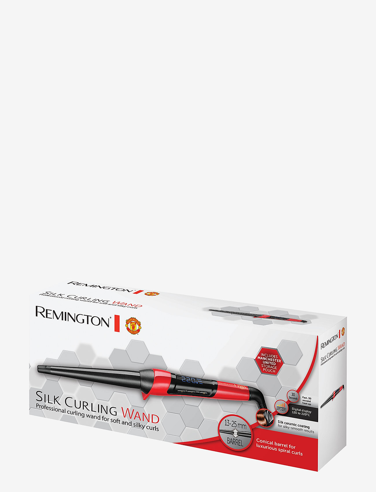 Remington - CI9755 Man Utd Silk Wand - locktång - no color - 1