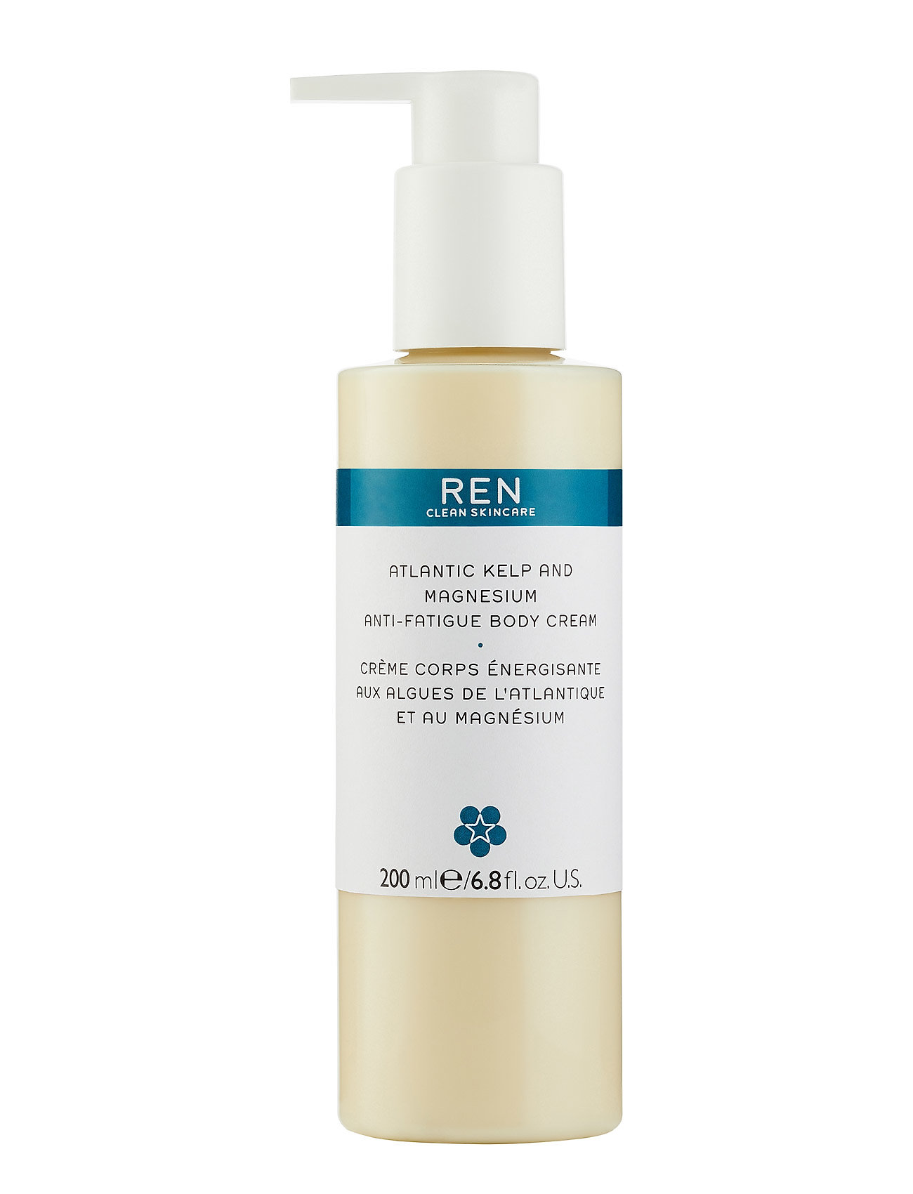 REN ATLANTIC KELP AND MAGNESIUM BODY CREAM 200 ml