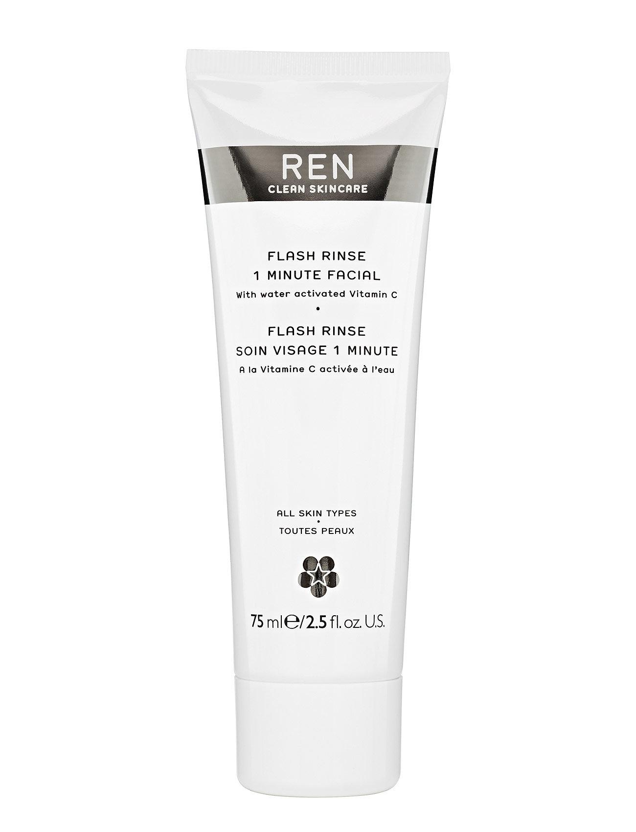 Image of Flash Rinse 1 Minute Facial Beauty WOMEN Skin Care Face Peelings Nude REN (3111060663)