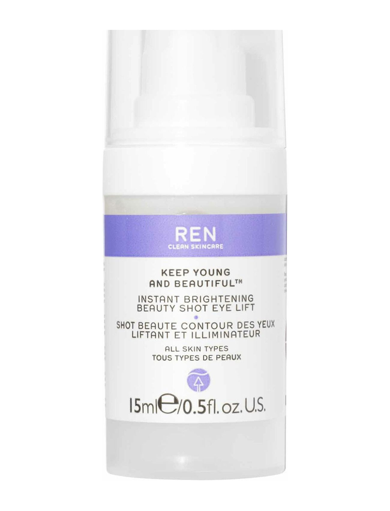 Image of Instant Brightening Beauty Shot Eye Lift Beauty WOMEN Skin Care Face Eye Cream Nude REN (3413092817)