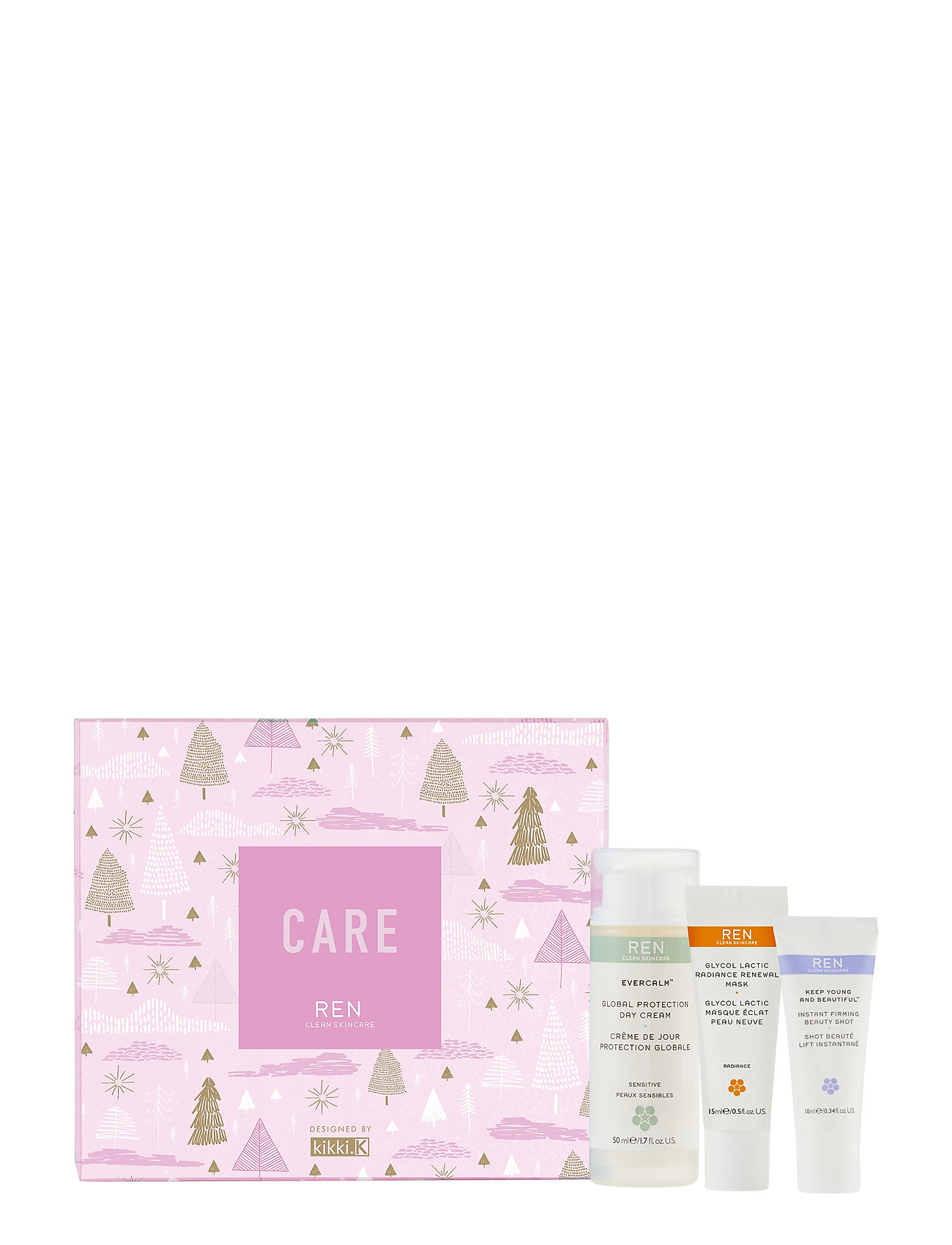 REN Care gift set - CLEAR