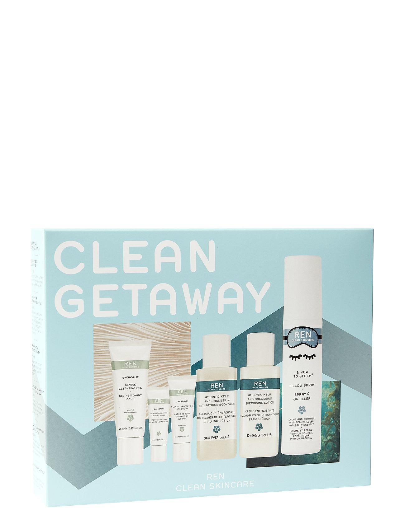 REN Clean Getaway Experience Kit - CLEAR