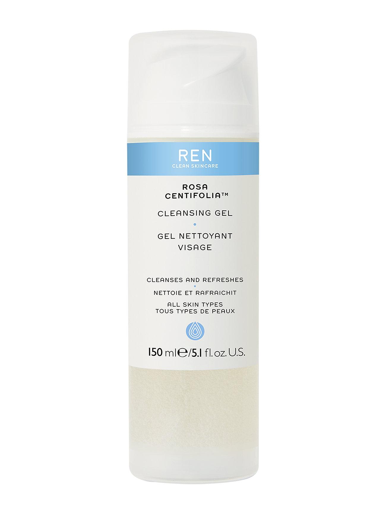 REN ROSA CENTIFOLIA CLEANSING GEL - CLEAR