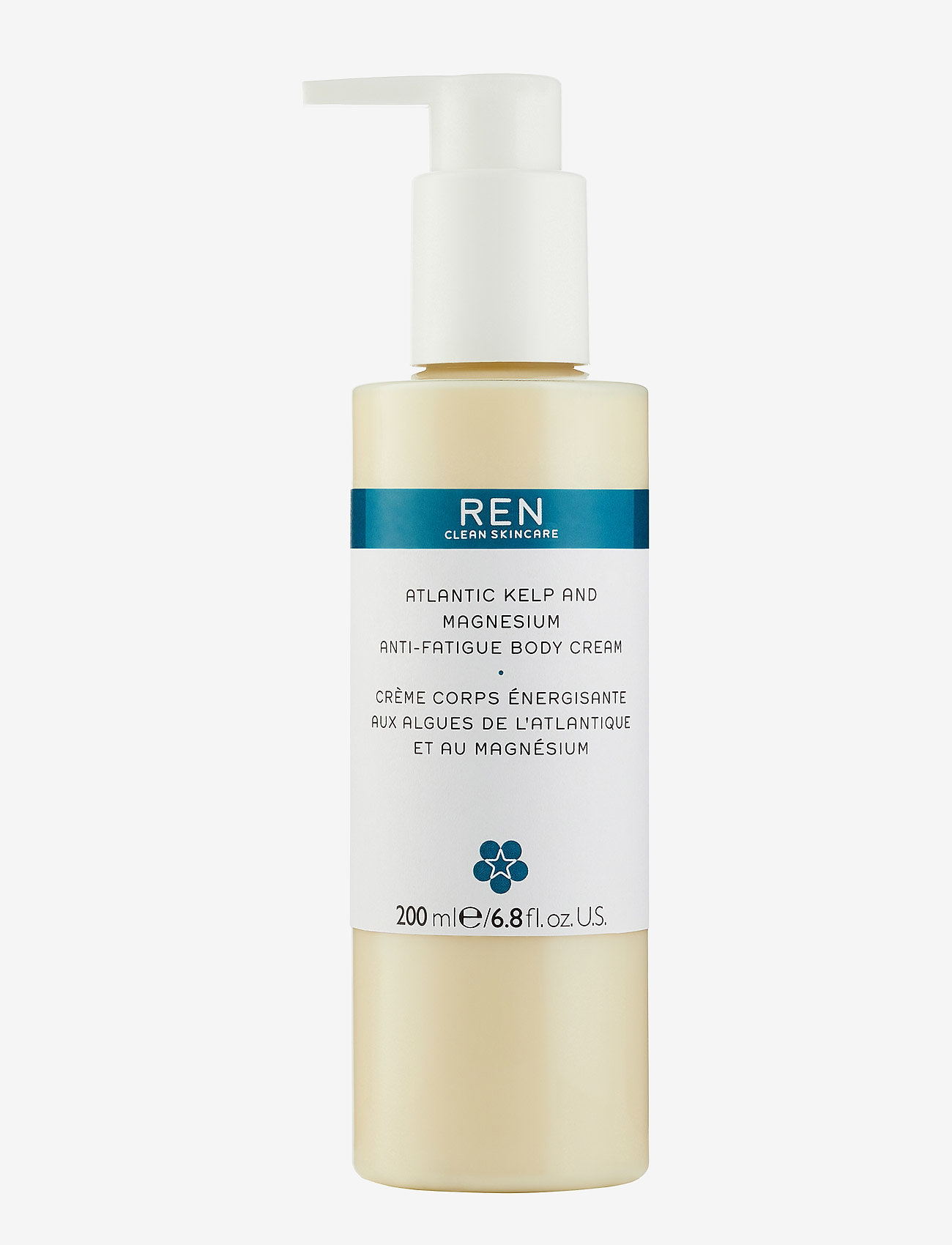 REN - ATLANTIC KELP AND MAGNESIUM BODY CREAM 200 ml - body cream - clear - 0