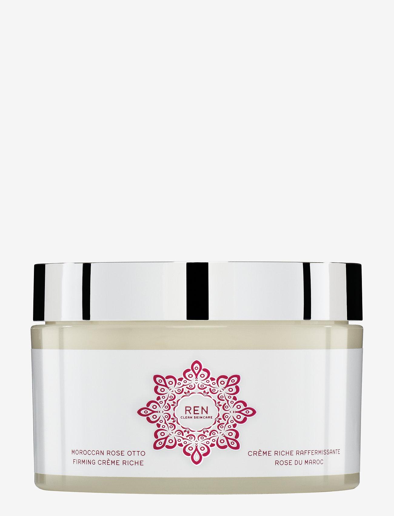 REN - MOROCCAN ROSE OTTO FIRMING CREME RICHE - body cream - clear - 0