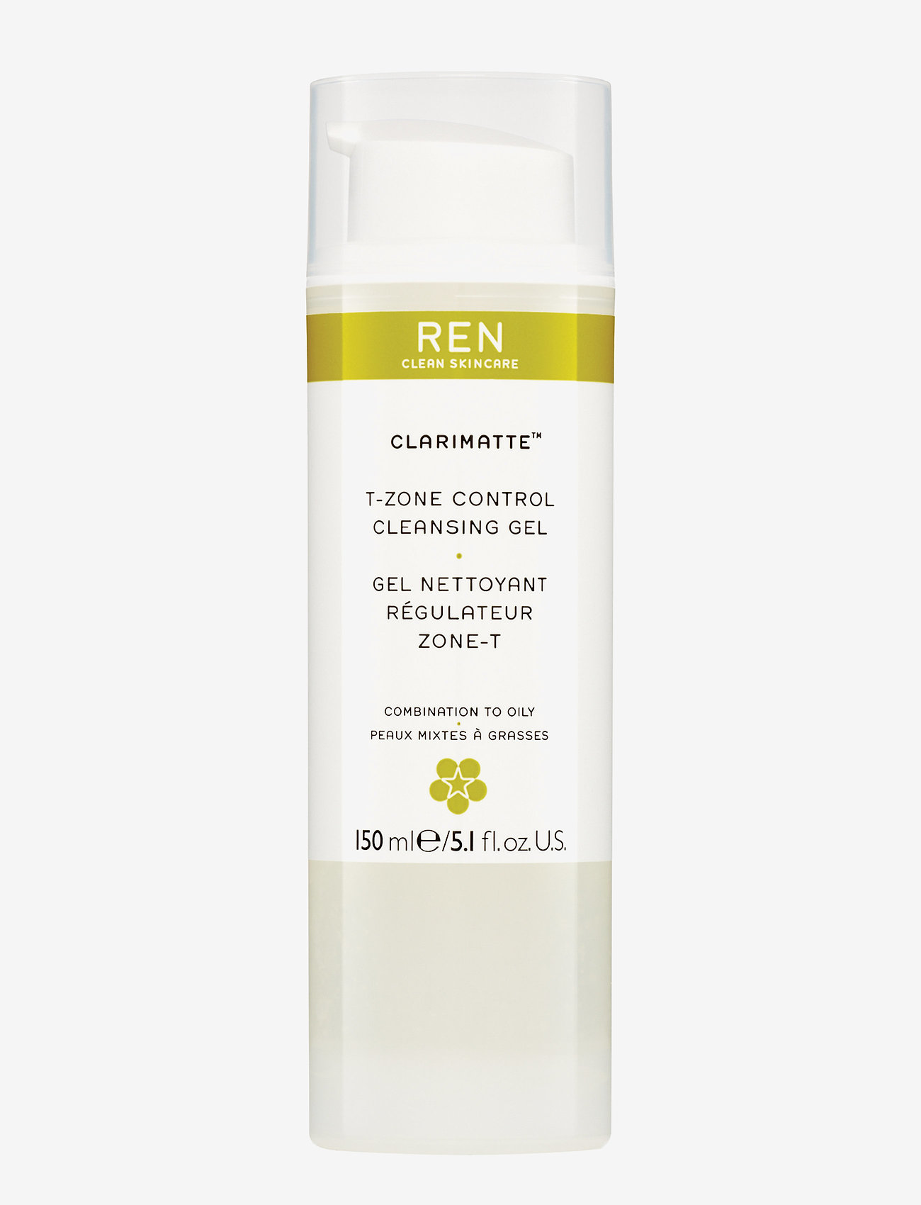 REN - T-ZONE CONTROL CLEANSING GEL - rensegel - clear - 0