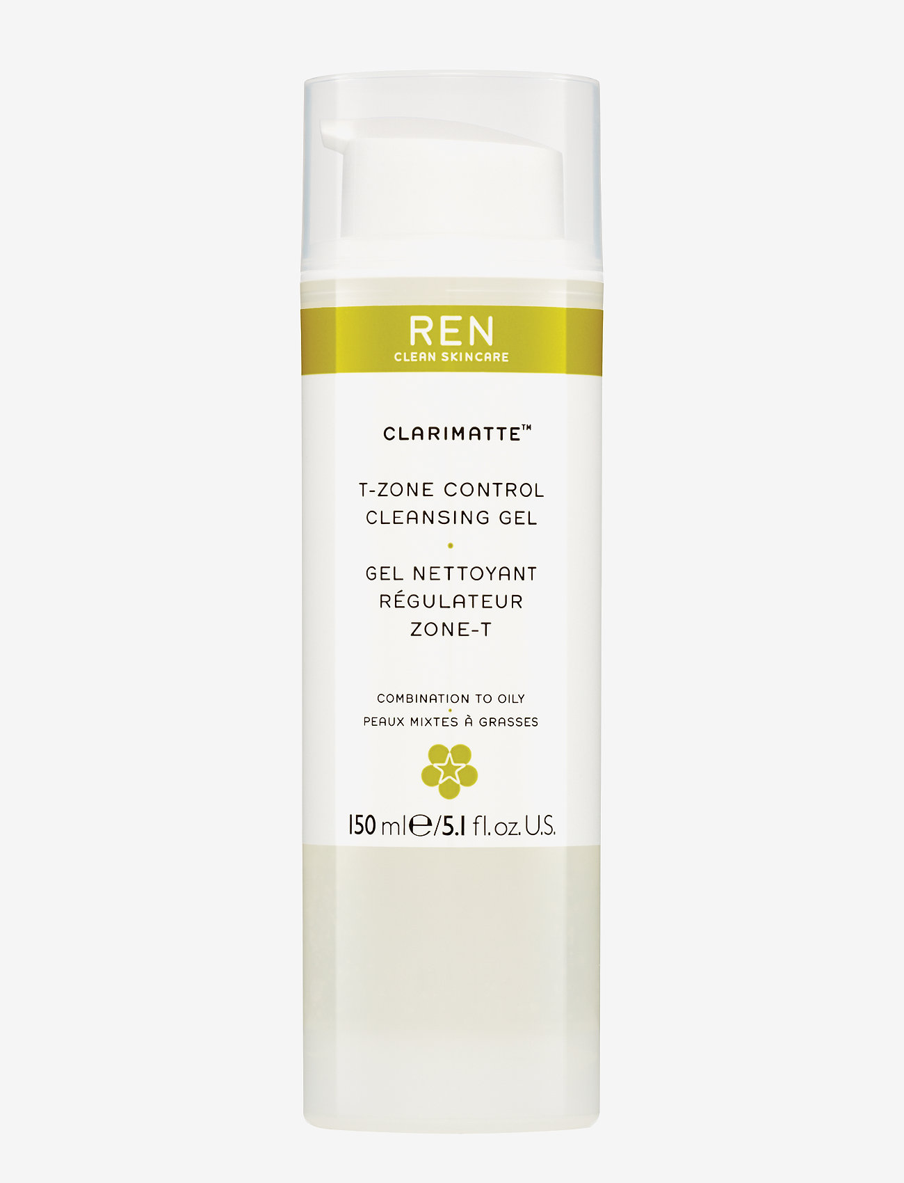 REN - T-ZONE CONTROL CLEANSING GEL - rensegel - clear - 1