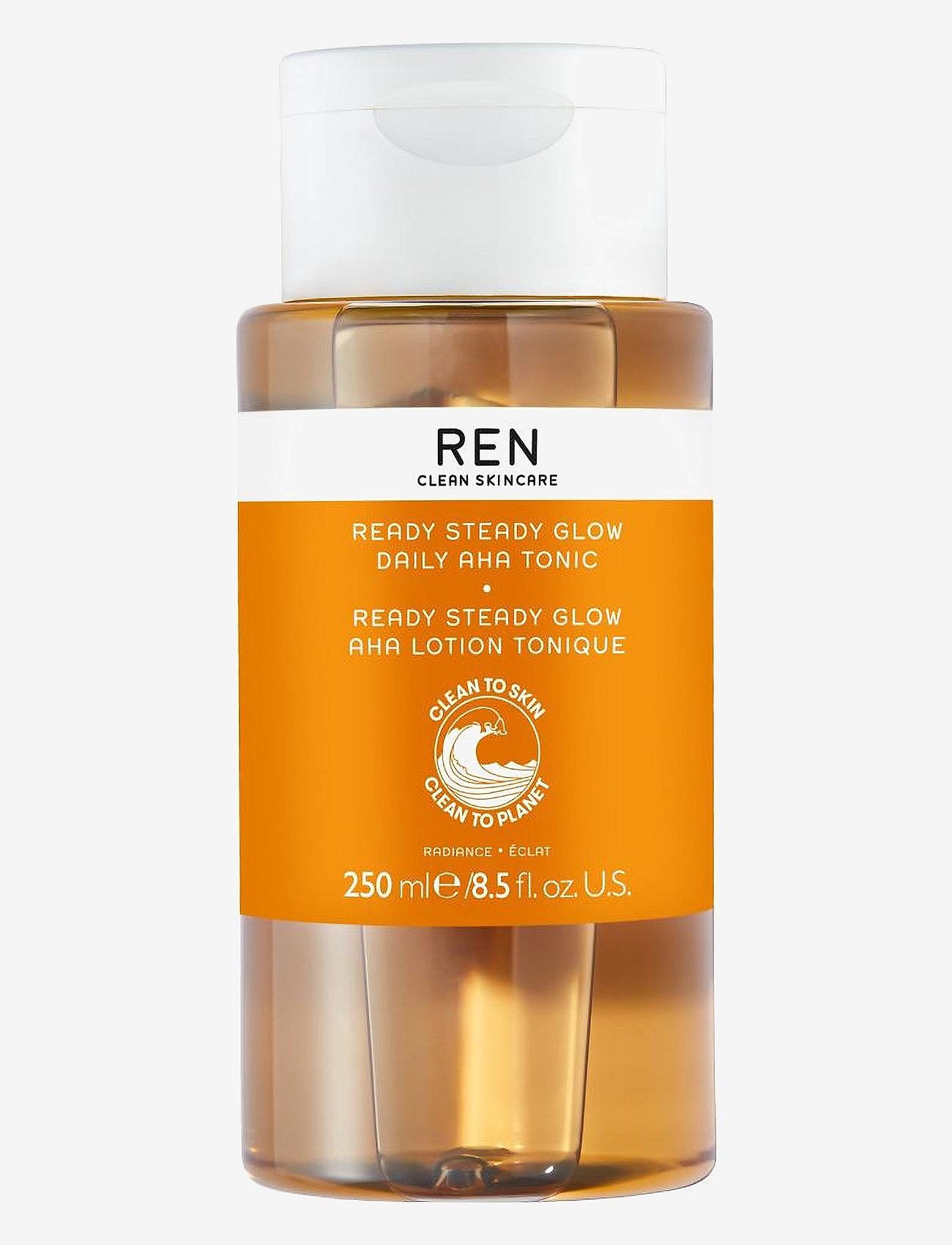 REN - Radiance Ready Steady Glow Daily AHA Tonic - kasvovesi - clear - 0