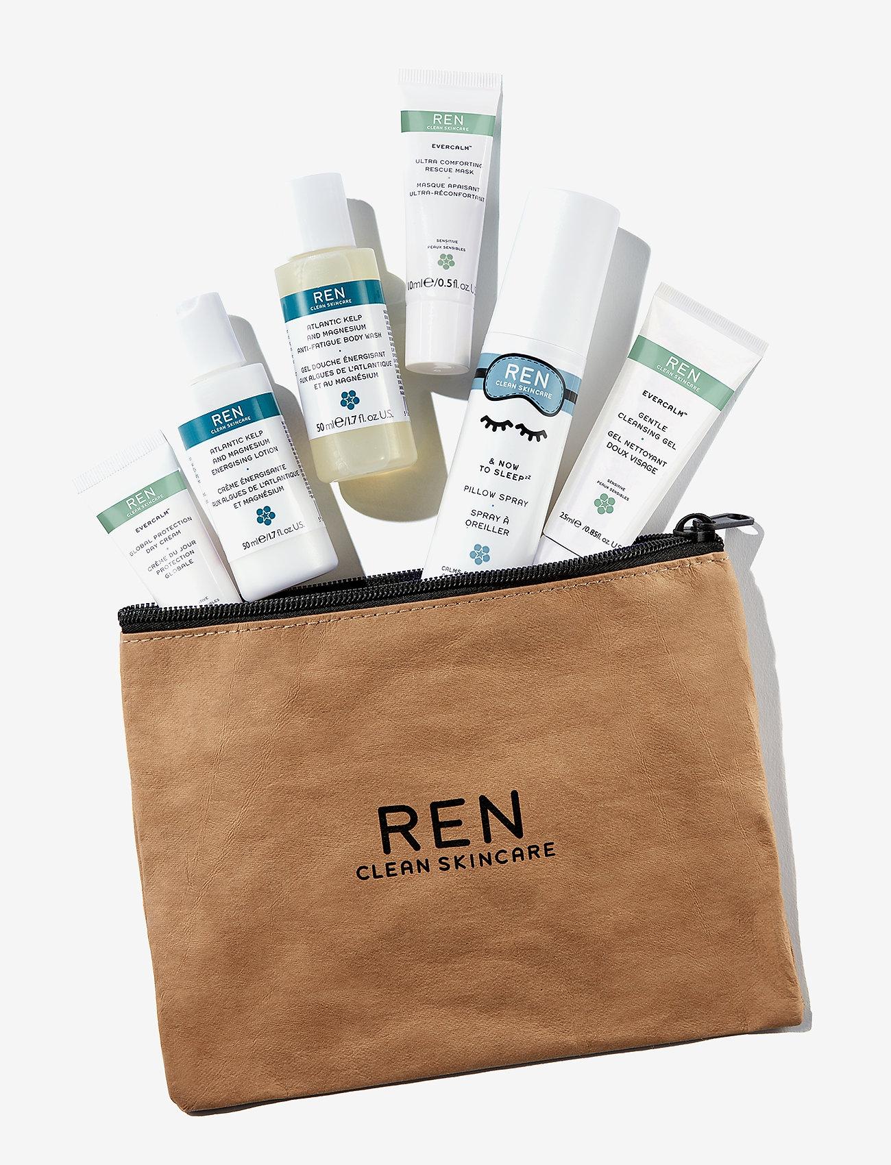 REN - Clean Getaway Experience Kit - ihonhoitosetit - clear - 1
