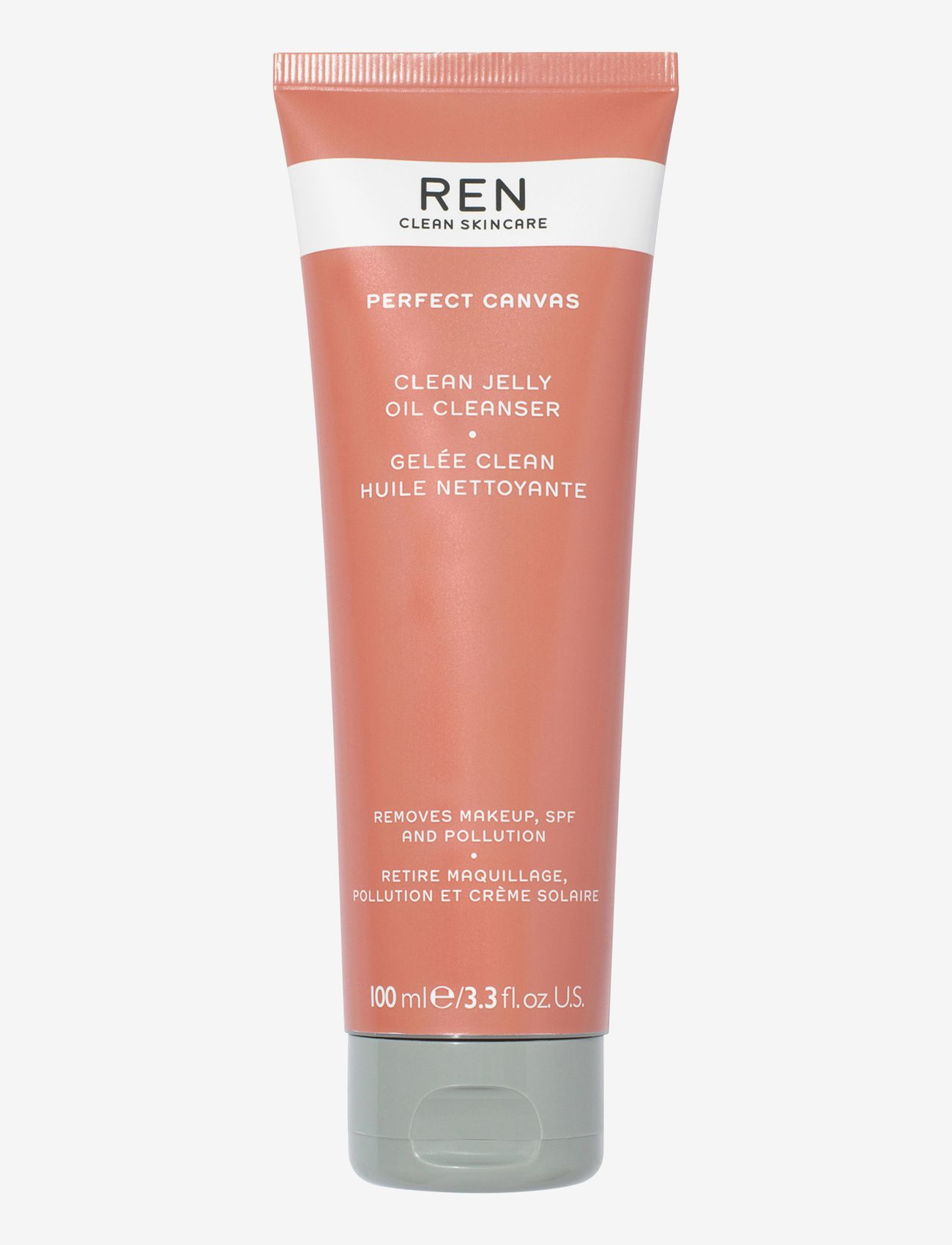 REN - PERFECT CANVAS CLEAN JELLY OIL CLEANSER - rensegel - clear - 0