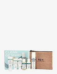 REN - Clean Getaway Experience Kit - ihonhoitosetit - clear - 2