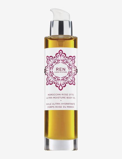 MOROCCAN ROSE OTTO ULTRA-MOISTURE BODY OIL - CLEAR