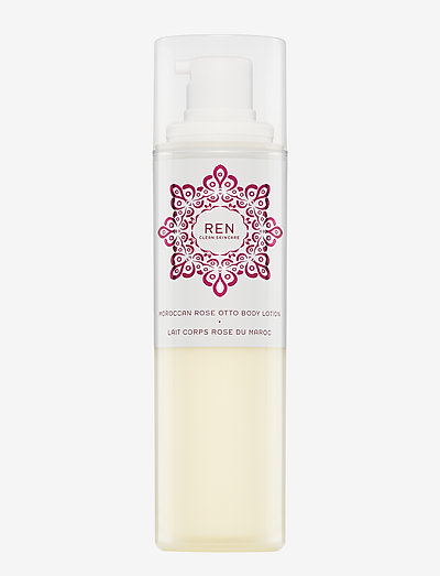 MOROCCAN ROSE OTTO BODY LOTION - body lotion - clear