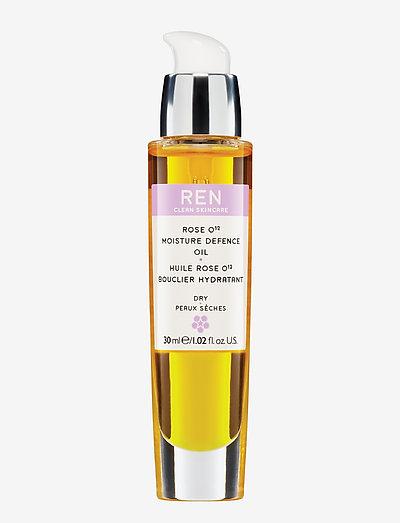 ROSE O12  MOISTURE DEFENCE OIL - ansiktsolja - clear