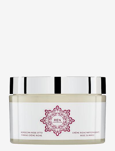 MOROCCAN ROSE OTTO FIRMING CREME RICHE - body cream - clear