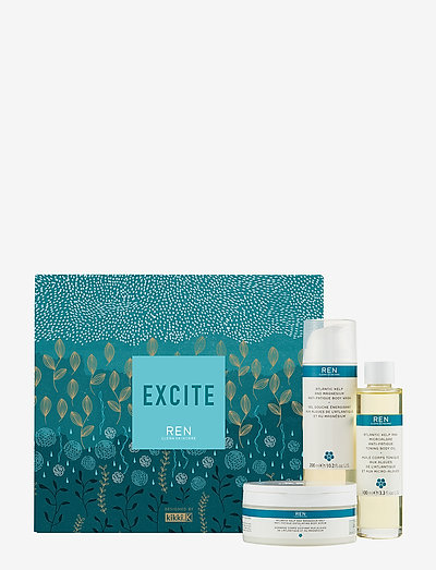 Excite gift set - bath & body sæt - clear