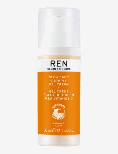 Radiance Glow Daily Vitamin C Gel Cream - dagkrem - clear
