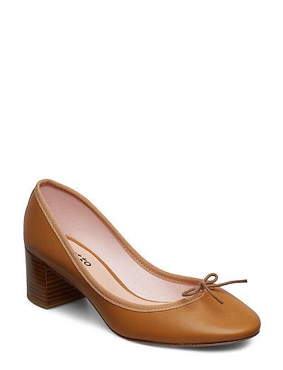 Farah Ball Ad Shoes Heels Pumps Classic Braun REPETTO PARIS