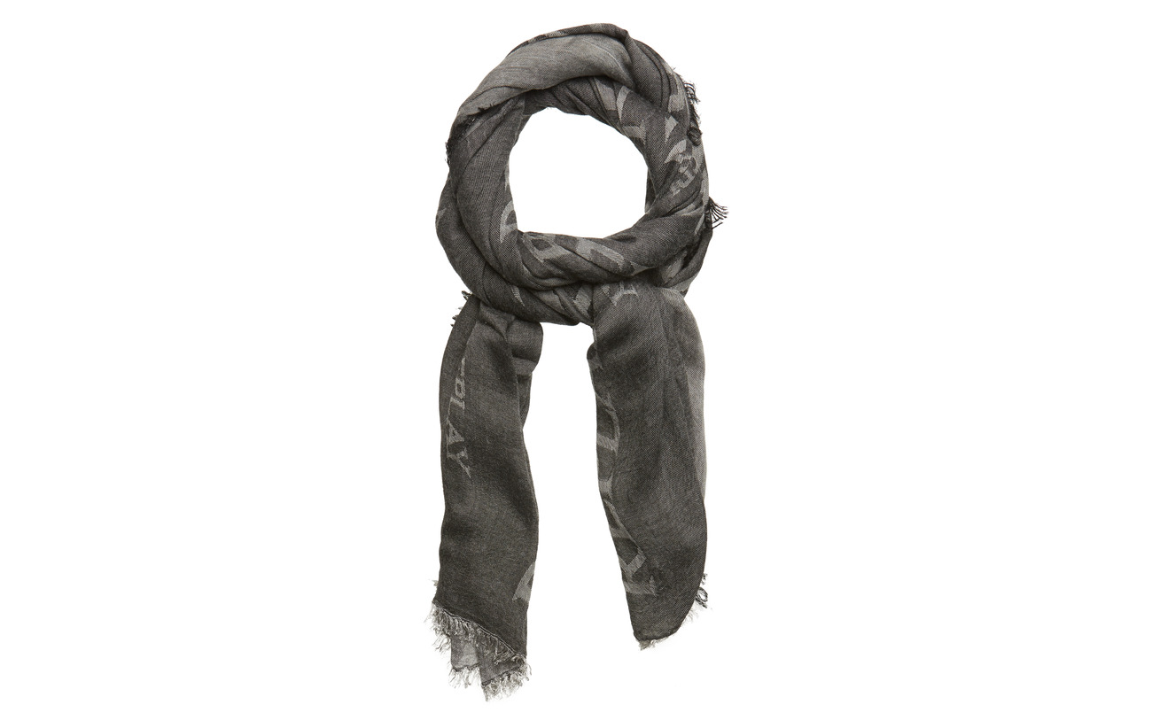 Replay Scarf - LT IRON GREY