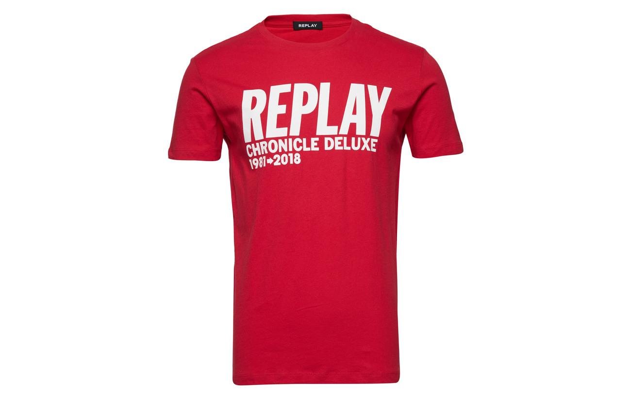 Replay Tomato Red Replay Tomato Tshirt Tshirt Replay Red Tshirt Replay Red Tomato fHw5qA