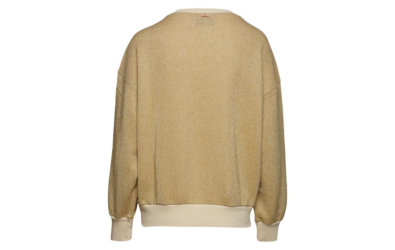 Lurex 75 Coton 25 Gold Fibre Metallized Replay Sweatshirt t1Eq7WcAw