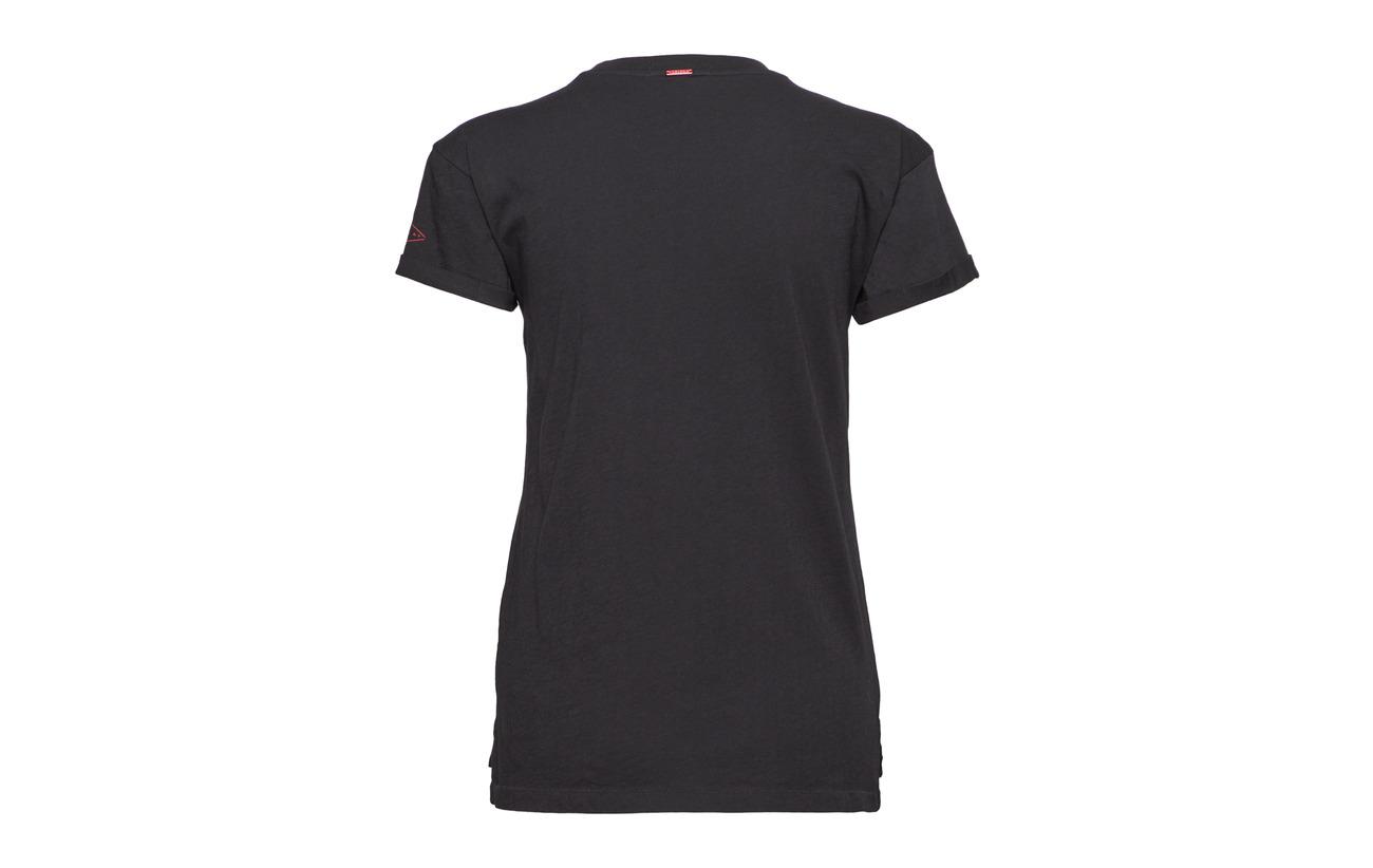 Coton Black Tshirt 100 Replay Replay Tshirt pxaqz1Xc