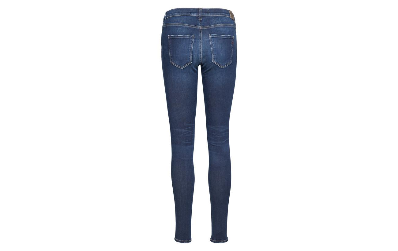 Replay Dark Stella 10 Coton Elastane 5 85 Blue Polyester rfqZw1xr