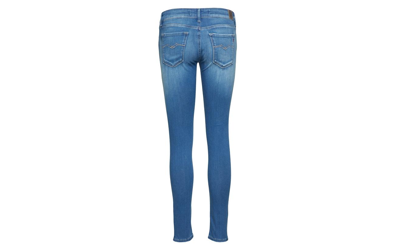 Light 87 Luz Elastane Blue Polyester 9 4 Coton Replay 6pw15qw