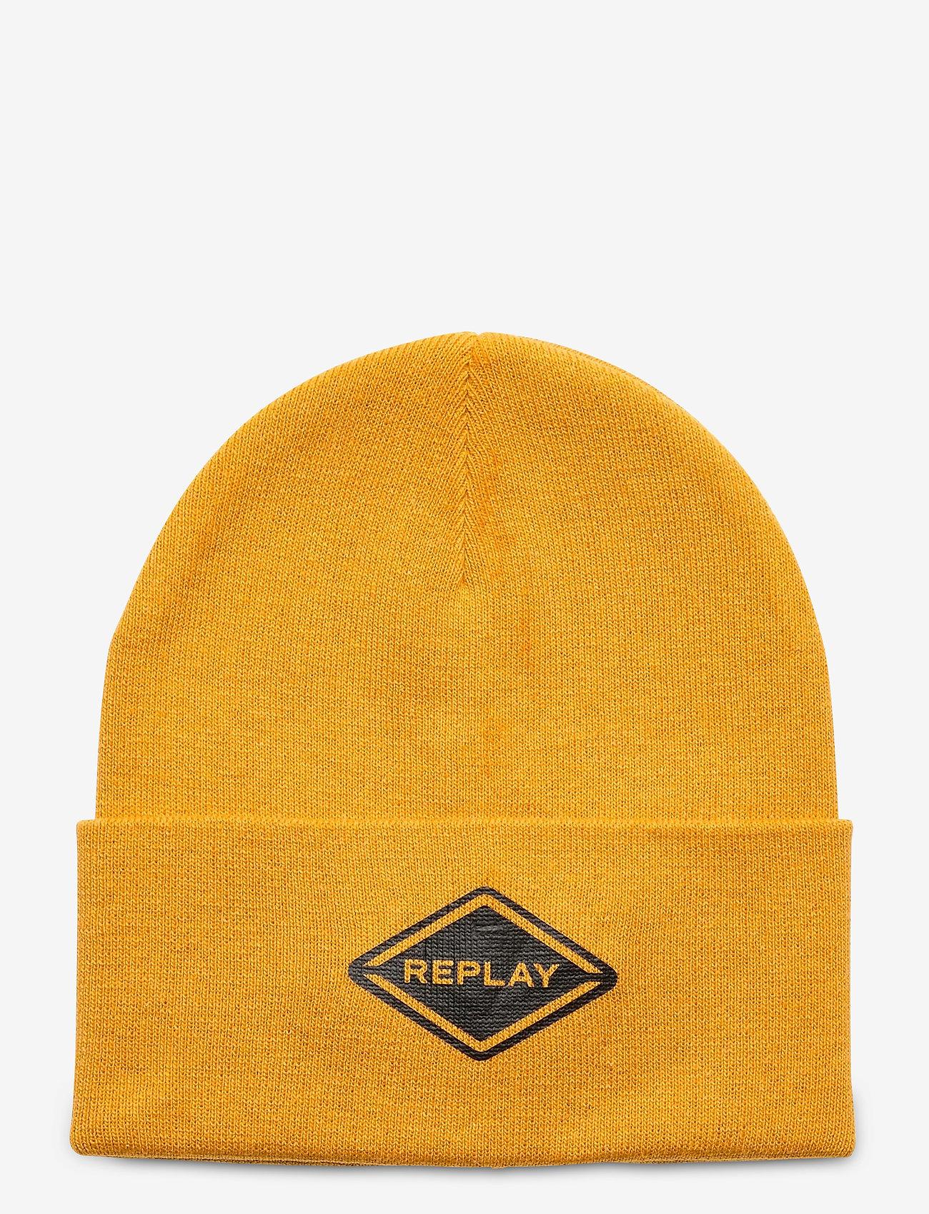 Replay - Cap - chapeaux - dk yellow - 0