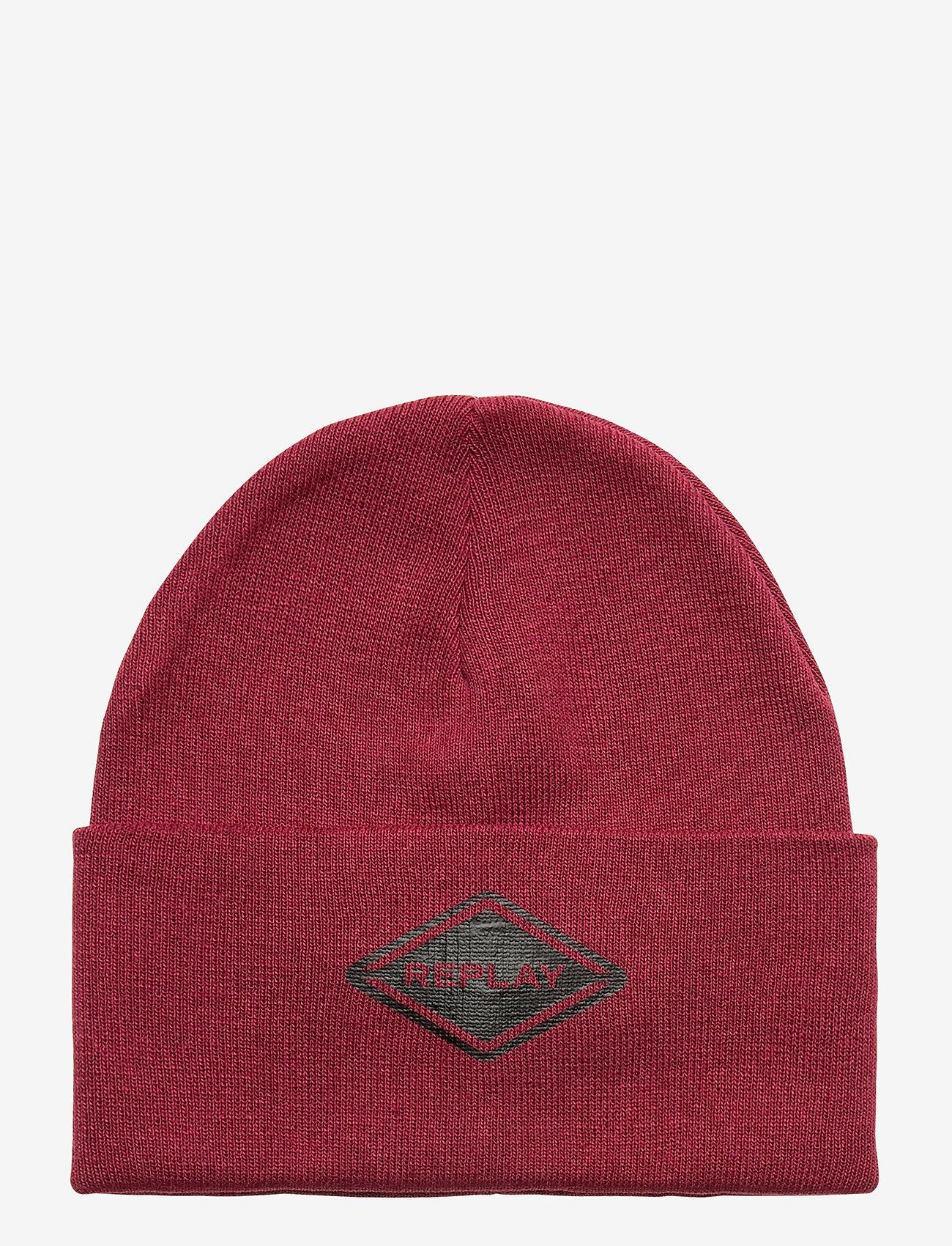 Replay - Cap - chapeaux - red purple - 0