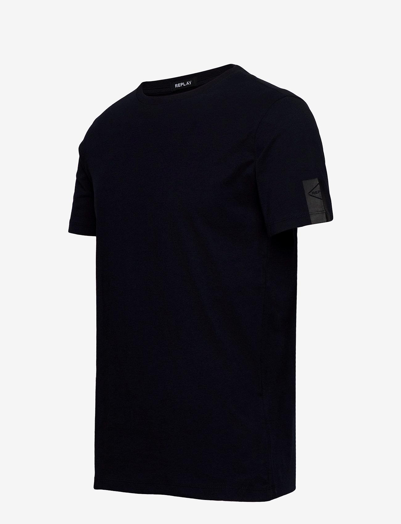 Replay 000 - T-skjorter DARK BLUE - Menn Klær