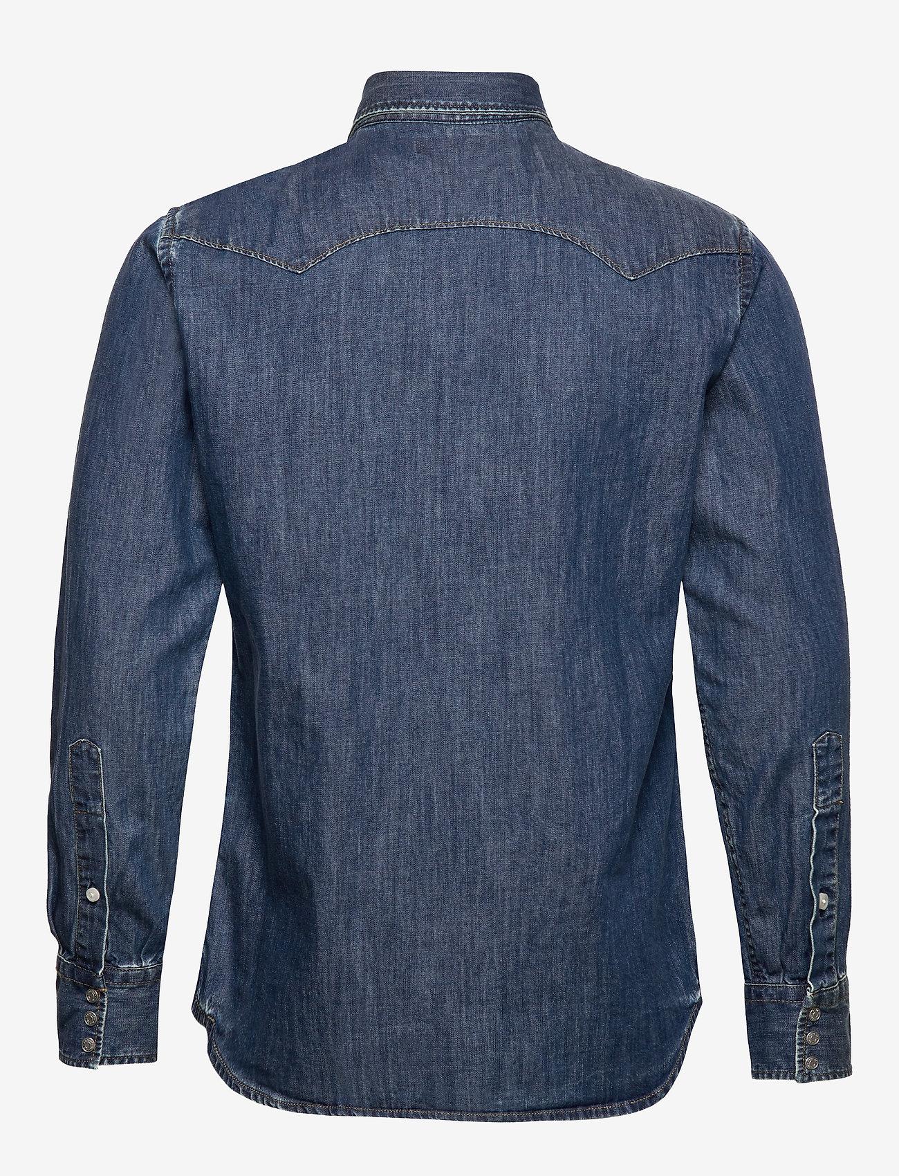 Replay - Shirt - podstawowe koszulki - medium blue - 1