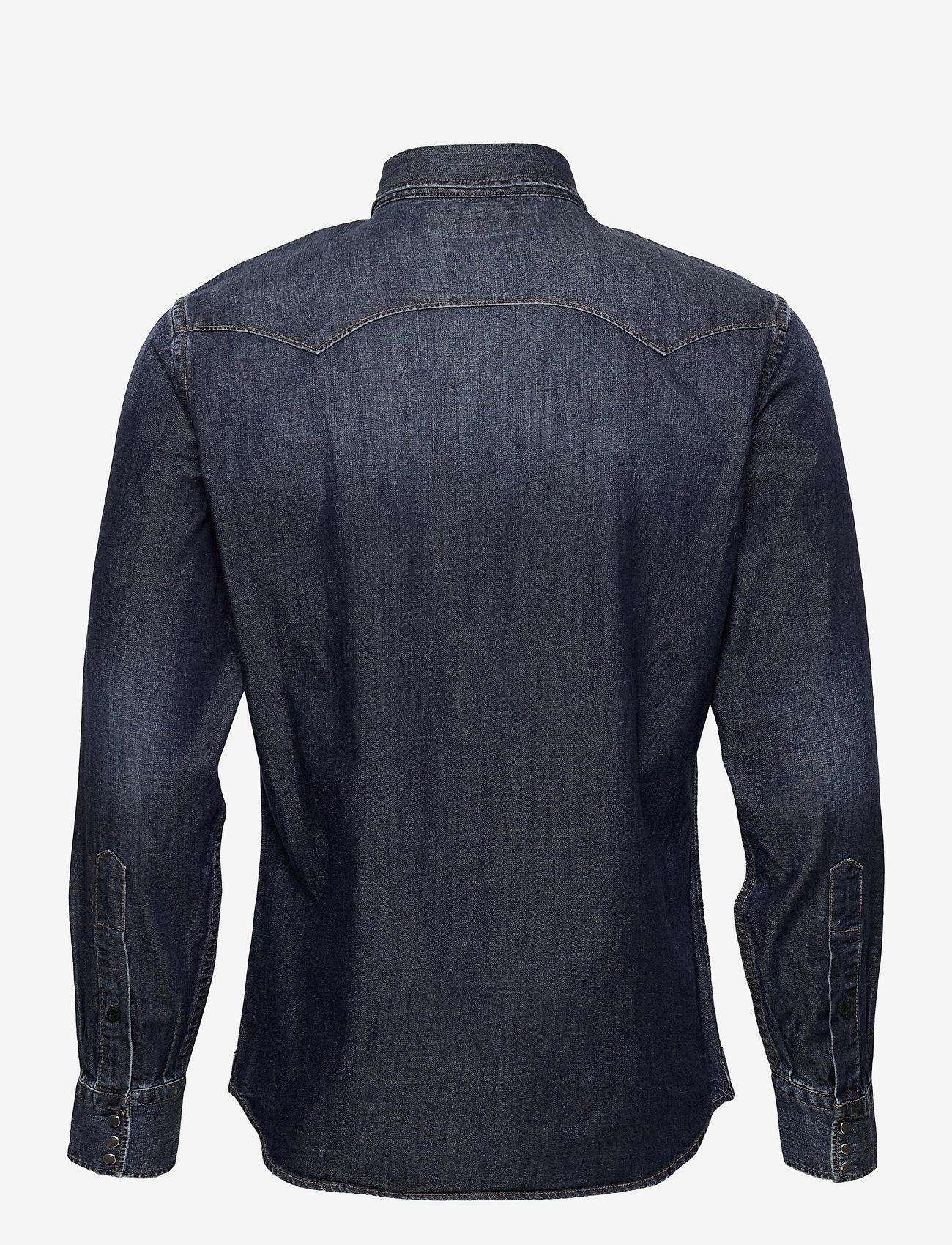 Replay - Shirt - peruspaitoja - dark blue - 1