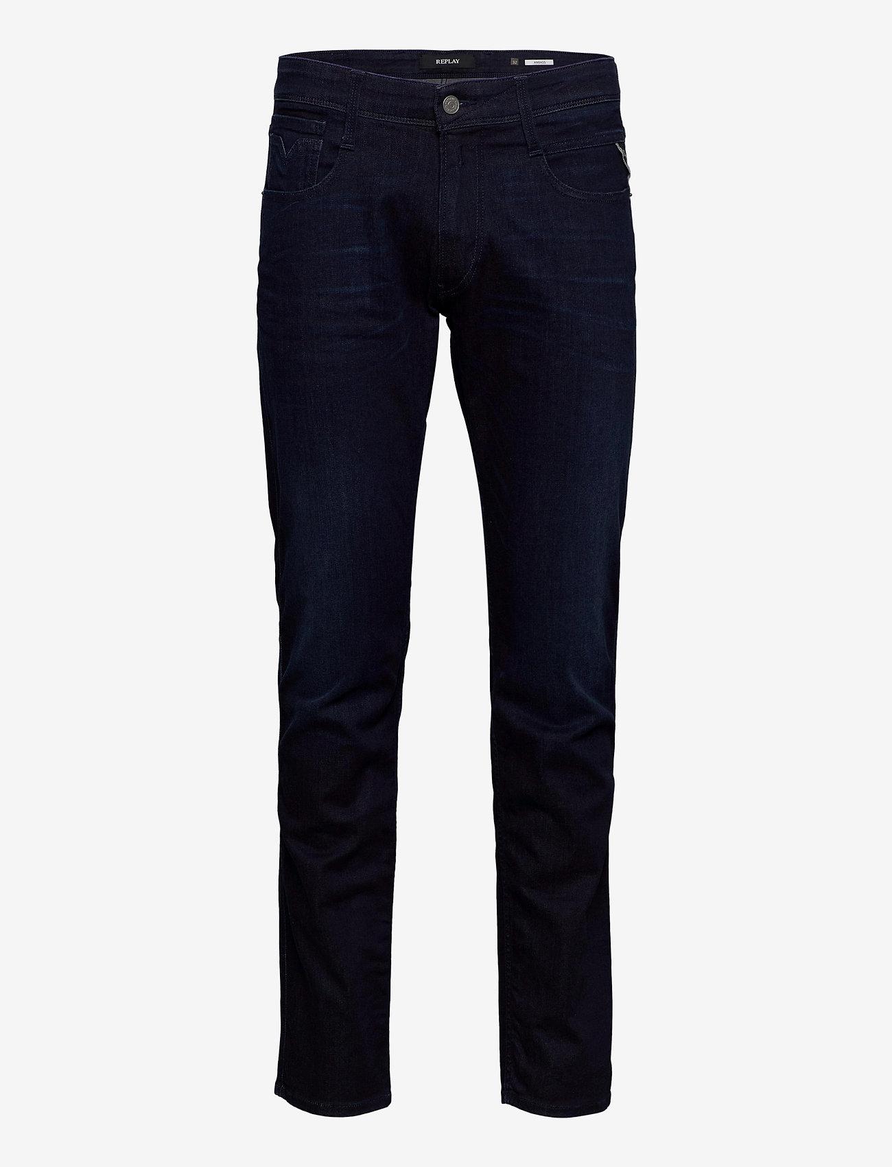 Replay - ANBASS - slim jeans - dark blue - 0
