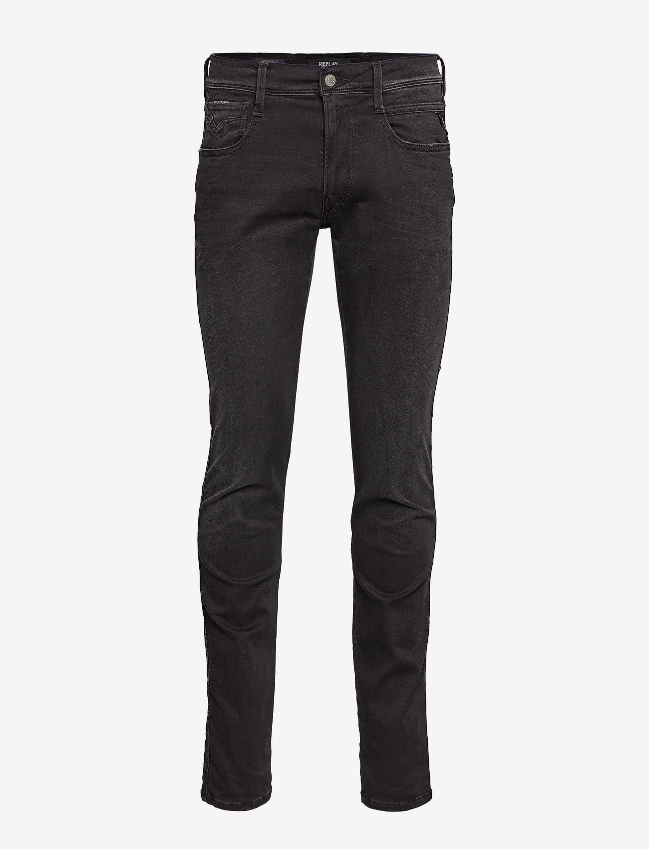 Replay ANBASS - Jeans BLACK gwEPPZJ3