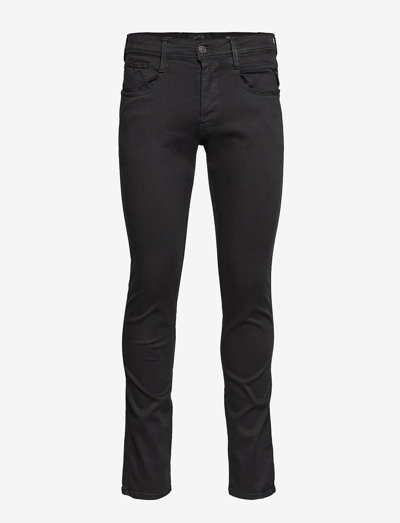Replay ANBASS - Jeans BLACK TlKBHv8Z