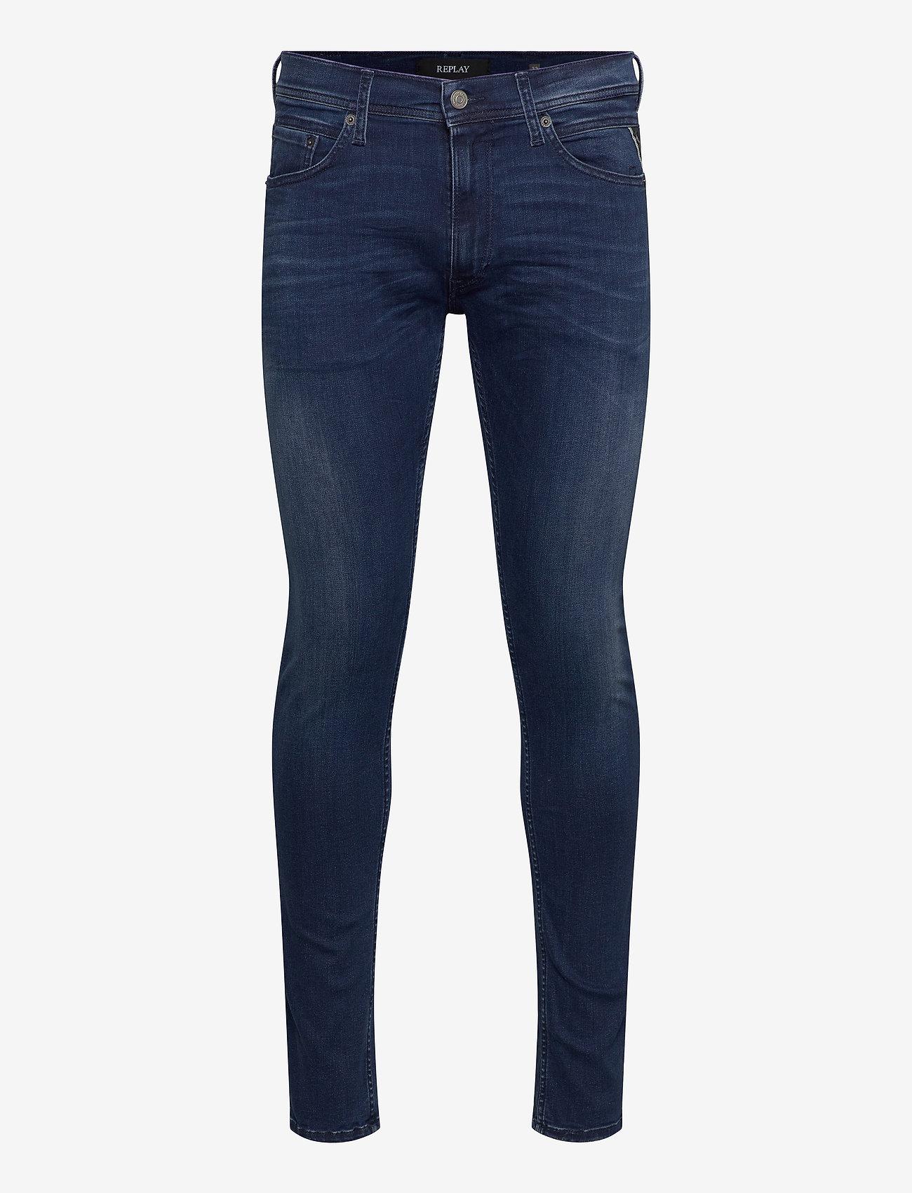 Replay - JONDRILL - skinny jeans - medium blue - 0