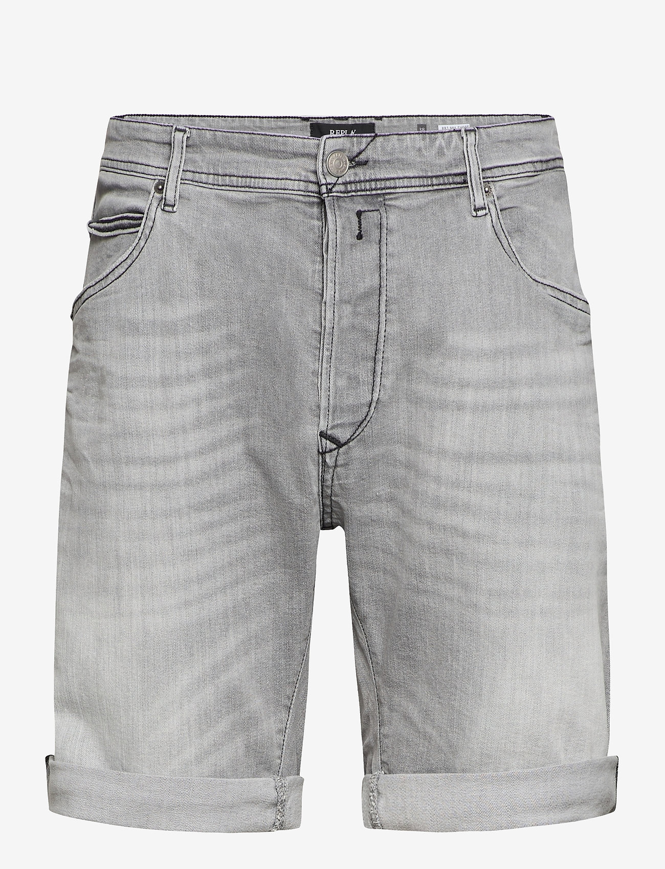 Replay - RBJ.901 SHORT - denim shorts - light grey - 0