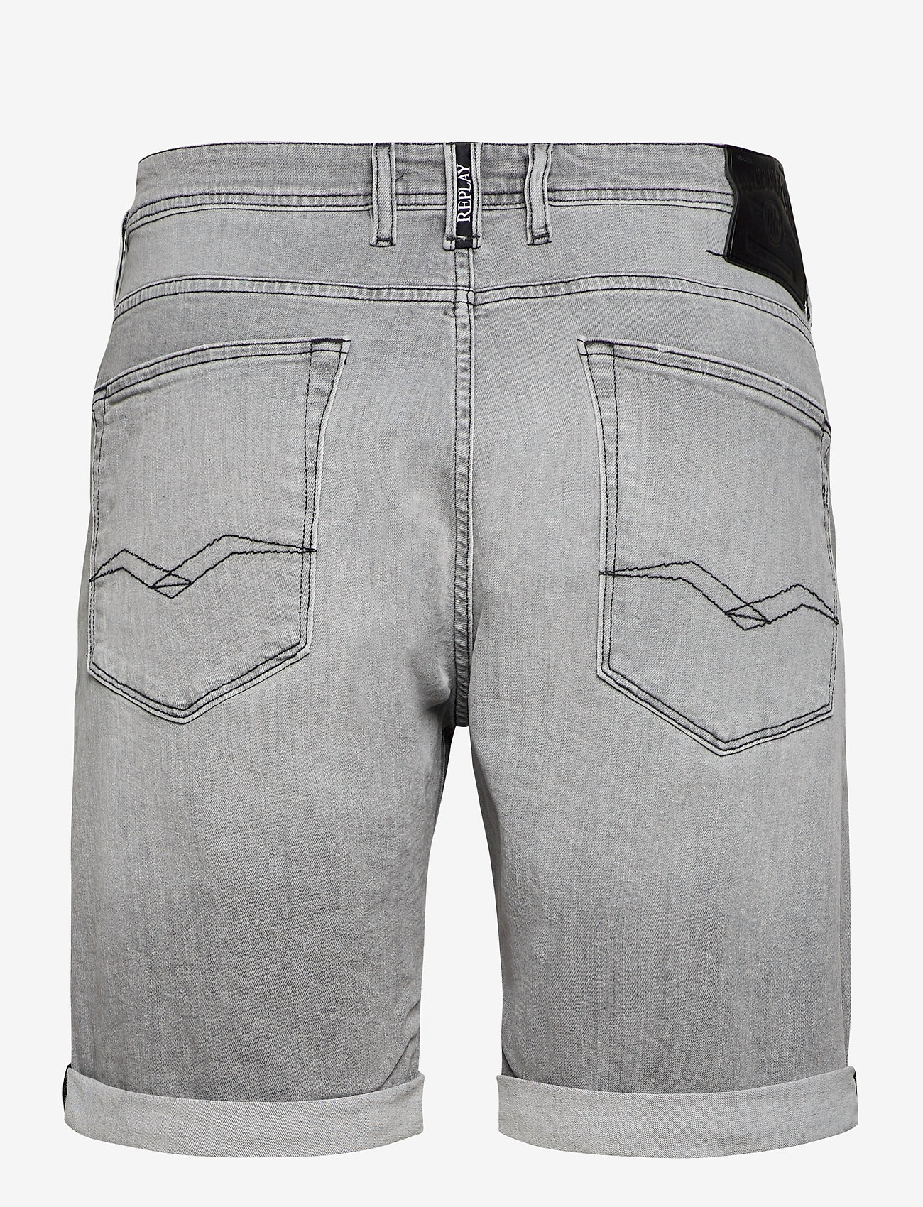 Replay - RBJ.901 SHORT - denim shorts - light grey - 1