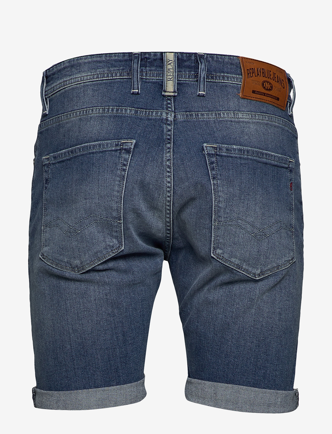 Replay - RBJ.901 SHORT - denim shorts - medium blue - 1