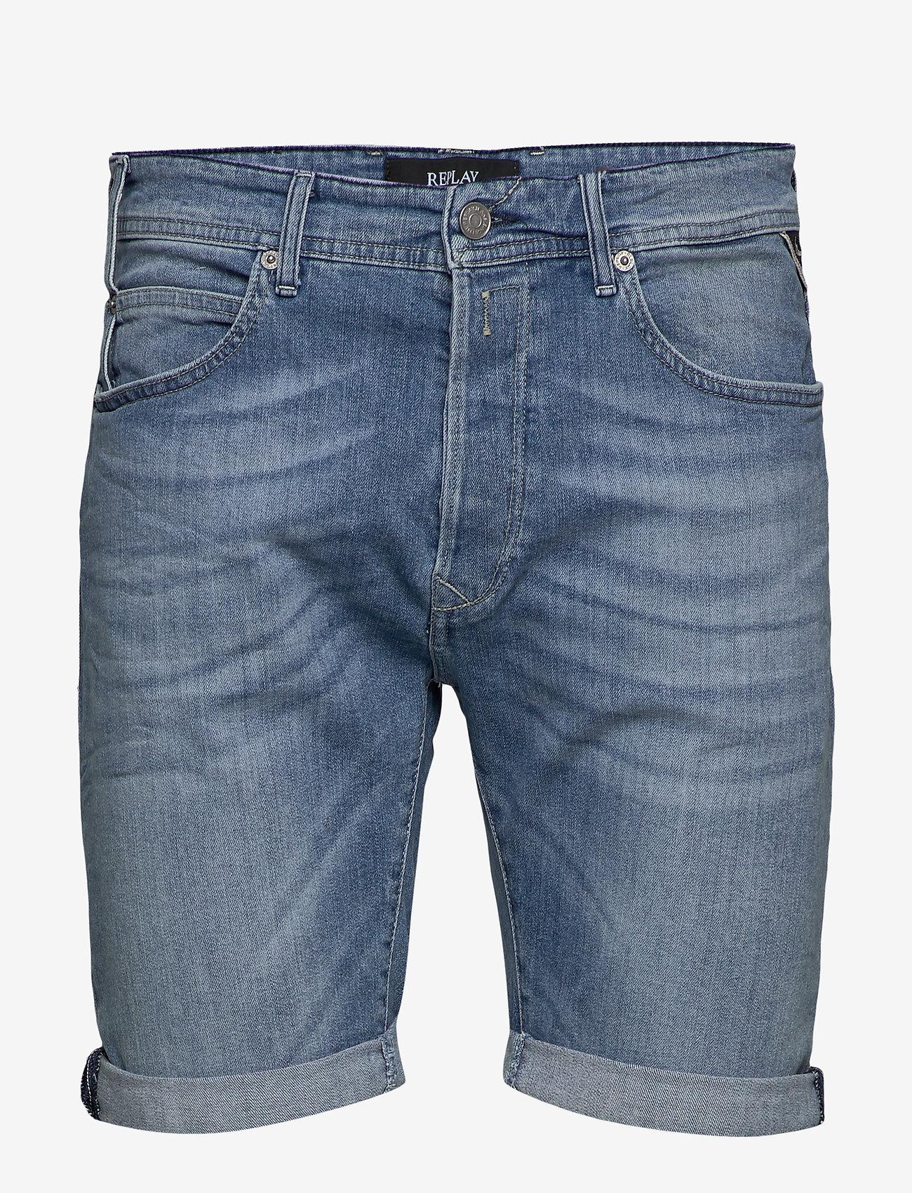 Replay - RBJ.901 SHORT - denim shorts - blue - 0