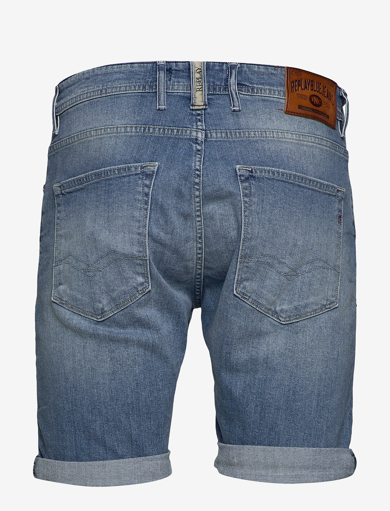 Replay - RBJ.901 SHORT - denim shorts - blue - 1